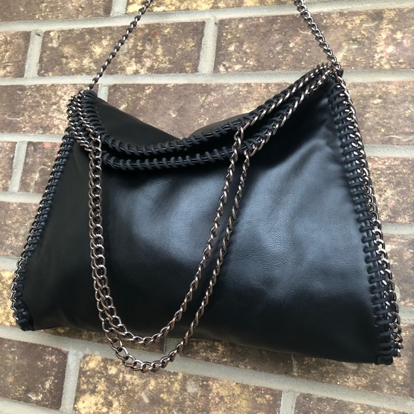 Browns Black Chain Bag